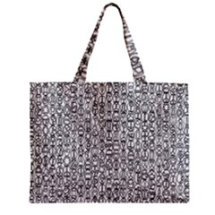 Abstract Knots Background Design Pattern Zipper Mini Tote Bag by Simbadda