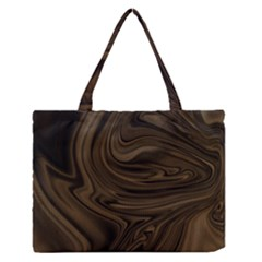 Abstract Art Medium Zipper Tote Bag by Simbadda