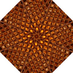 Caramel Honeycomb An Abstract Image Folding Umbrellas by Simbadda