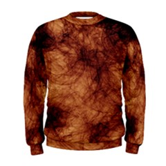 Abstract Brown Smoke Men s Sweatshirt