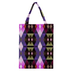 Geometric Abstract Background Art Classic Tote Bag by Nexatart