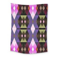 Geometric Abstract Background Art Medium Tapestry by Nexatart