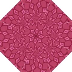Fusia Abstract Background Element Diamonds Straight Umbrellas