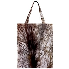 Tree Art Artistic Tree Abstract Background Zipper Classic Tote Bag