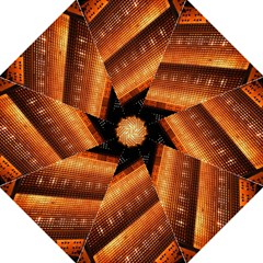 Magic Steps Stair With Light In The Dark Golf Umbrellas by Nexatart