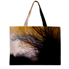 Tree Art Artistic Abstract Background Zipper Mini Tote Bag by Nexatart