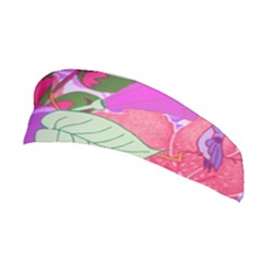 Abstract Design With Hummingbirds Stretchable Headband
