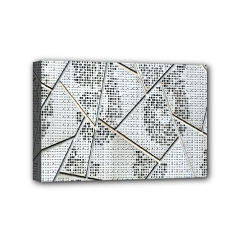 The Abstract Design On The Xuzhou Art Museum Mini Canvas 6  X 4