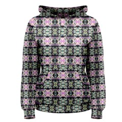Colorful Pixelation Repeat Pattern Women s Pullover Hoodie