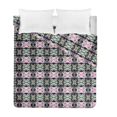 Colorful Pixelation Repeat Pattern Duvet Cover Double Side (full/ Double Size) by Nexatart