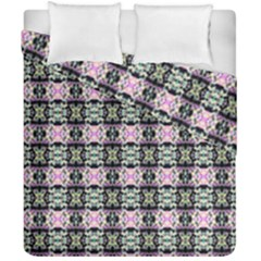 Colorful Pixelation Repeat Pattern Duvet Cover Double Side (california King Size) by Nexatart