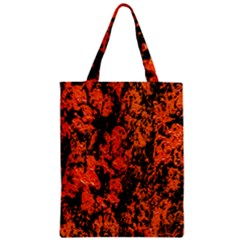 Abstract Orange Background Zipper Classic Tote Bag