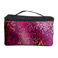 Red Seamless Abstract Background Cosmetic Storage Case by Nexatart