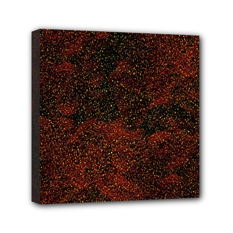 Olive Seamless Abstract Background Mini Canvas 6  X 6  by Nexatart