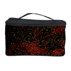Olive Seamless Abstract Background Cosmetic Storage Case
