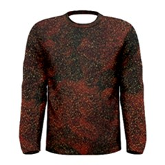 Olive Seamless Abstract Background Men s Long Sleeve Tee