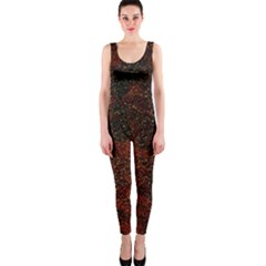 Olive Seamless Abstract Background Onepiece Catsuit