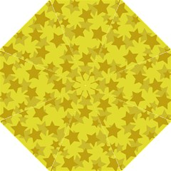Yellow Star Folding Umbrellas by Mariart