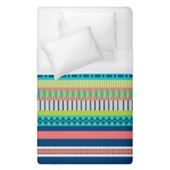 Aztec Triangle Chevron Wave Plaid Circle Color Rainbow Duvet Cover (single Size) by Mariart