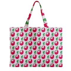 Fruit Pink Green Mangosteen Zipper Mini Tote Bag by Mariart