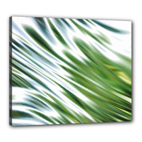 Fluorescent Flames Background Light Effect Abstract Canvas 24  X 20