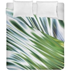 Fluorescent Flames Background Light Effect Abstract Duvet Cover Double Side (california King Size) by Nexatart