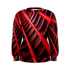 Abstract Of A Red Metal Chair Women s Sweatshirt