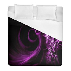 Purple Flower Floral Duvet Cover (full/ Double Size)