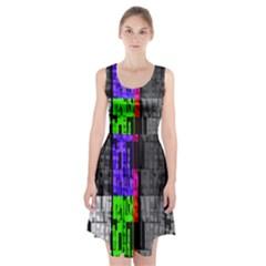 Repeated Tapestry Pattern Racerback Midi Dress by Nexatart