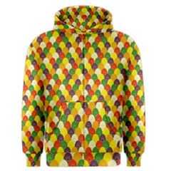 Flower Floral Sunflower Color Rainbow Yellow Purple Red Green Men s Zipper Hoodie by Mariart