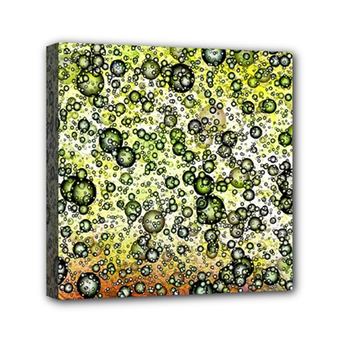 Chaos Background Other Abstract And Chaotic Patterns Mini Canvas 6  X 6  by Nexatart