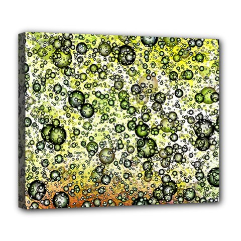 Chaos Background Other Abstract And Chaotic Patterns Deluxe Canvas 24  X 20   by Nexatart