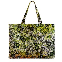 Chaos Background Other Abstract And Chaotic Patterns Zipper Mini Tote Bag by Nexatart
