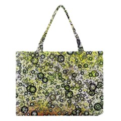 Chaos Background Other Abstract And Chaotic Patterns Medium Tote Bag by Nexatart