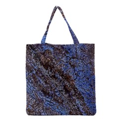 Cracked Mud And Sand Abstract Grocery Tote Bag
