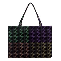 Multicolor Pattern Digital Computer Graphic Medium Tote Bag by Nexatart