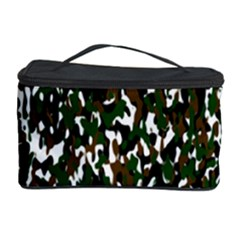Camouflaged Seamless Pattern Abstract Cosmetic Storage Case by Nexatart