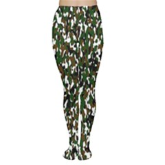 Camouflaged Seamless Pattern Abstract Women s Tights by Nexatart