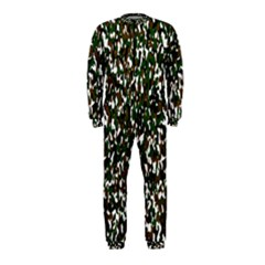 Camouflaged Seamless Pattern Abstract Onepiece Jumpsuit (kids)