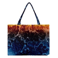 Abstract Background Medium Tote Bag by Nexatart
