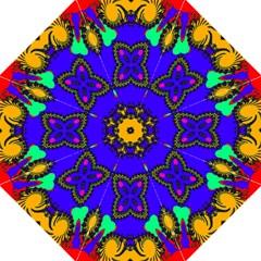 Digital Kaleidoscope Straight Umbrellas