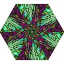 Bright Tropical Background Abstract Background That Has The Shape And Colors Of The Tropics Mini Folding Umbrellas View1
