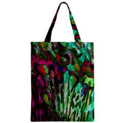 Bright Tropical Background Abstract Background That Has The Shape And Colors Of The Tropics Zipper Classic Tote Bag by Nexatart