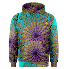 Beautiful Mandala Created With Fractal Forge Men s Pullover Hoodie by Nexatart