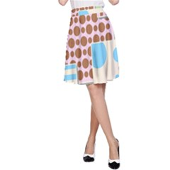 Part Background Image A Line Skirt