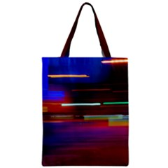 Abstract Background Pictures Zipper Classic Tote Bag