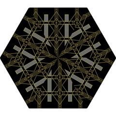 Simple Art Deco Style Art Pattern Mini Folding Umbrellas