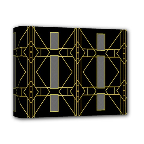 Simple Art Deco Style Art Pattern Deluxe Canvas 14  X 11  by Nexatart