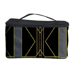 Simple Art Deco Style Art Pattern Cosmetic Storage Case