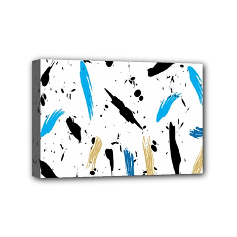 Abstract Image Image Of Multiple Colors Mini Canvas 6  X 4  by Nexatart